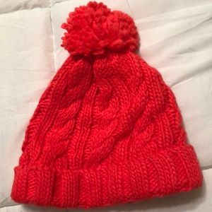 Coral/Pink Beanie